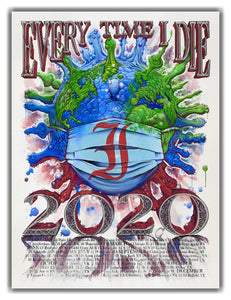 ETID World Tour 2020 poster