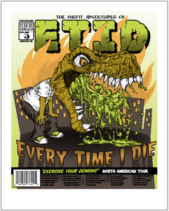 ETID Spring 2010 North American Tour Poster