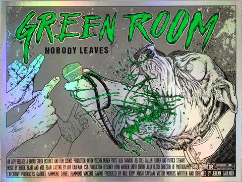 Green Room (on foil)