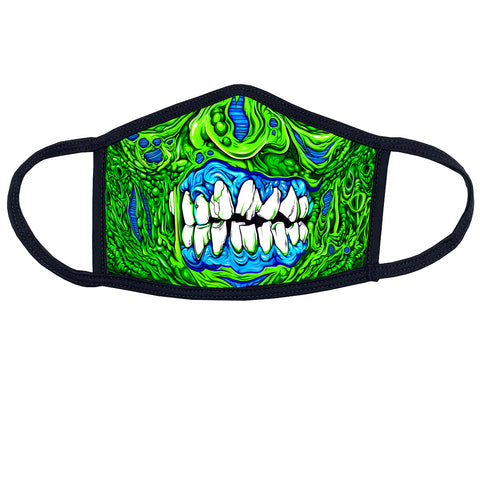 Green Zombie Mask