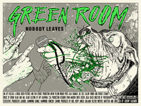 Green Room (on white)