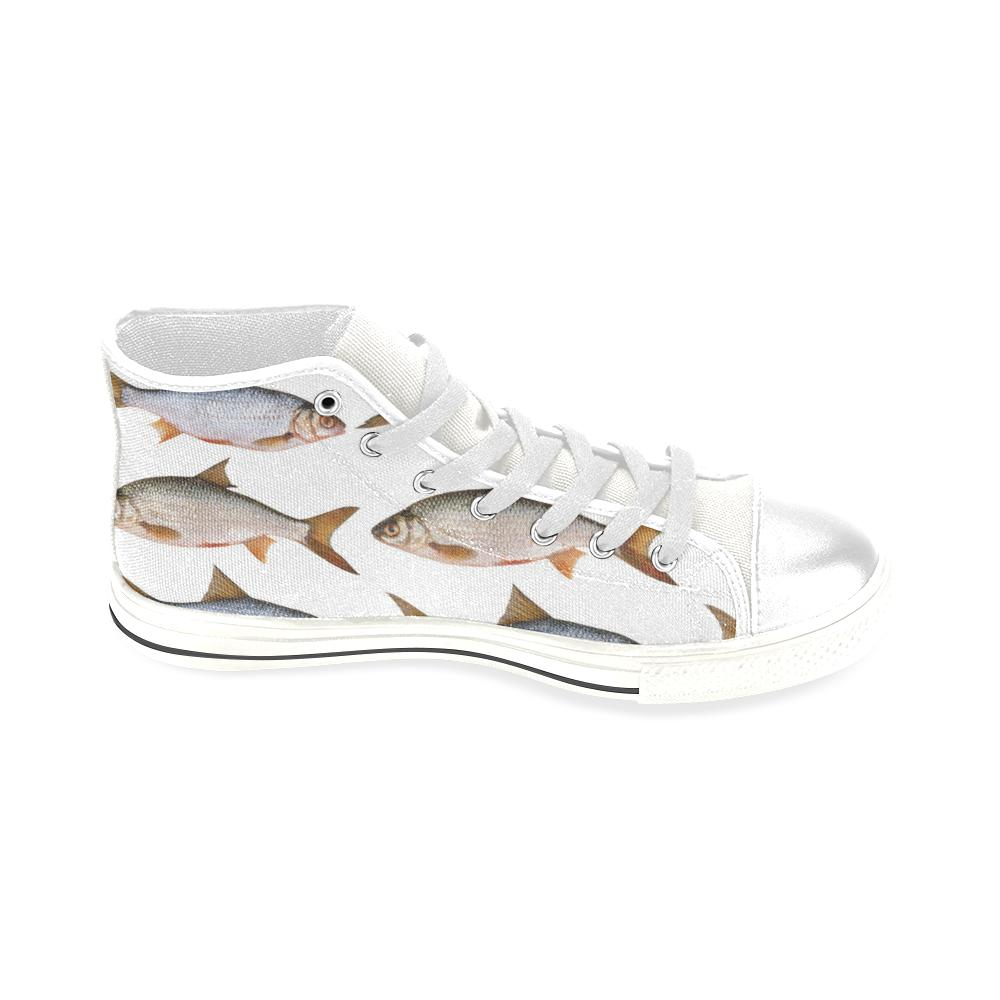 Fishing shoes high top canvas men absoluteawesomestuff for Best fishing shoes