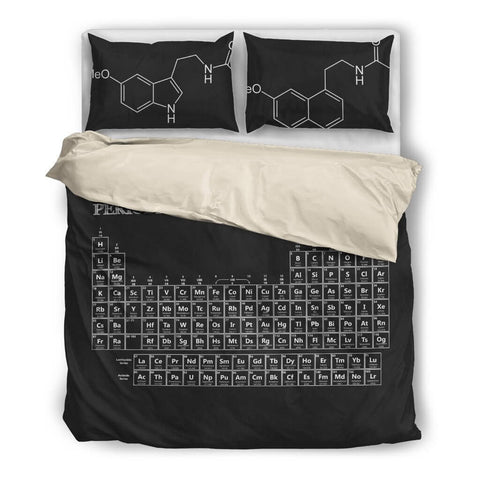 Periodic Table Bedding Set Absoluteawesomestuff