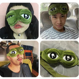3D Frog Sleep Mask
