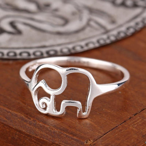 Elephant Ring (925 Sterling Silver) - Limited Edition