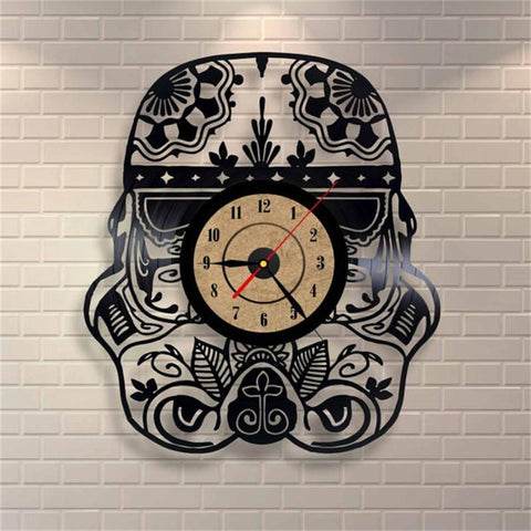 Trooper Vinyl Record Clock