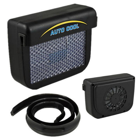 Solar Power Auto Fan Cooler