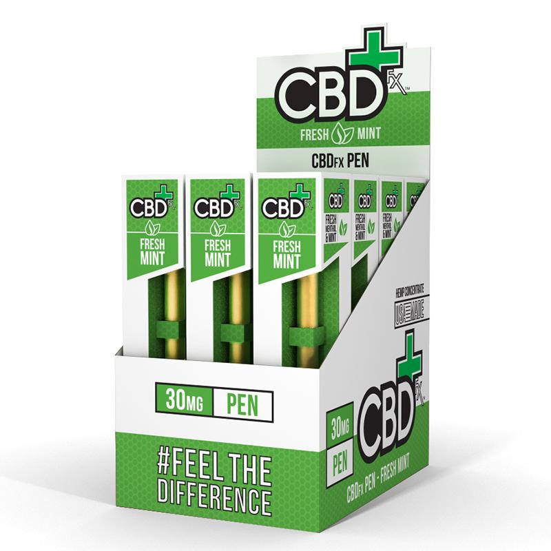 12 CBD Disposable Vape Pen Fresh Mint