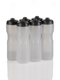 Squirt Water Bottle with One-Way Valve Team Pack (Clear) - 50 Strong