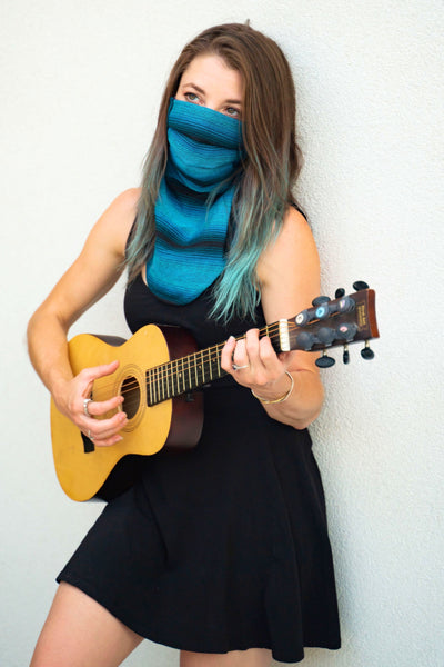 Singing the Blues (Scarf Mask)