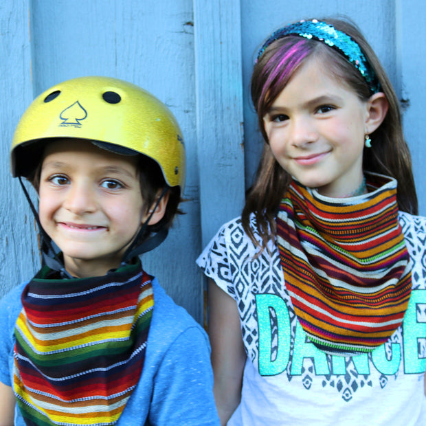 Kids Scarf Mask 2 Pack, Grit/Supersonic