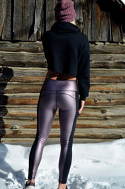 Attitude Legging - Rose Dawn