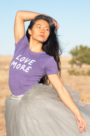 Love More Favorite Tee, Purple
