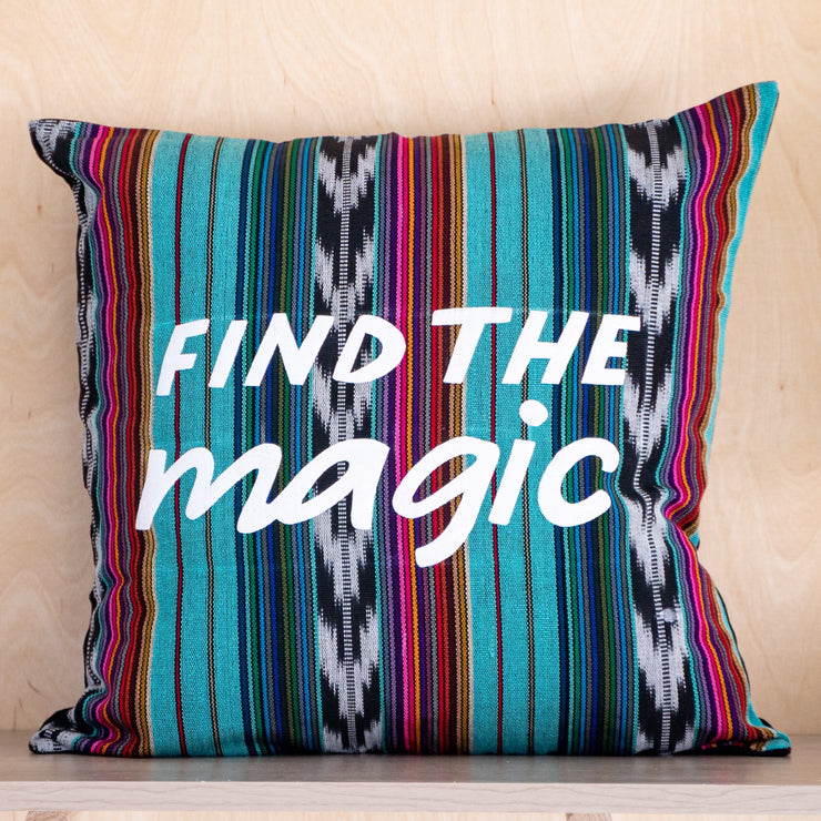 Find the Magic Pillow Cover