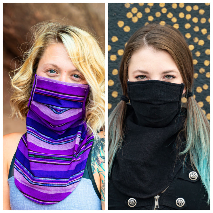 Scarf Mask 2 Pack (Adult), OG/Ninja