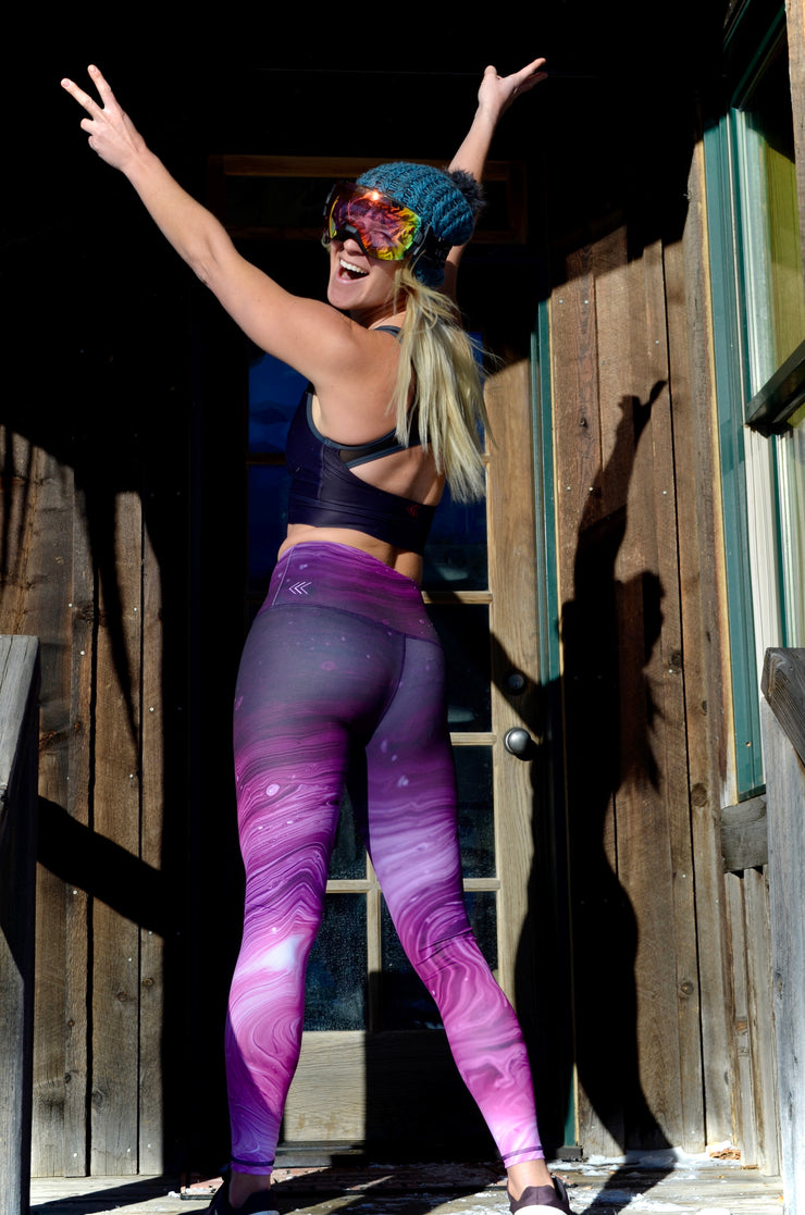 Rock On Unity Legging - Purple