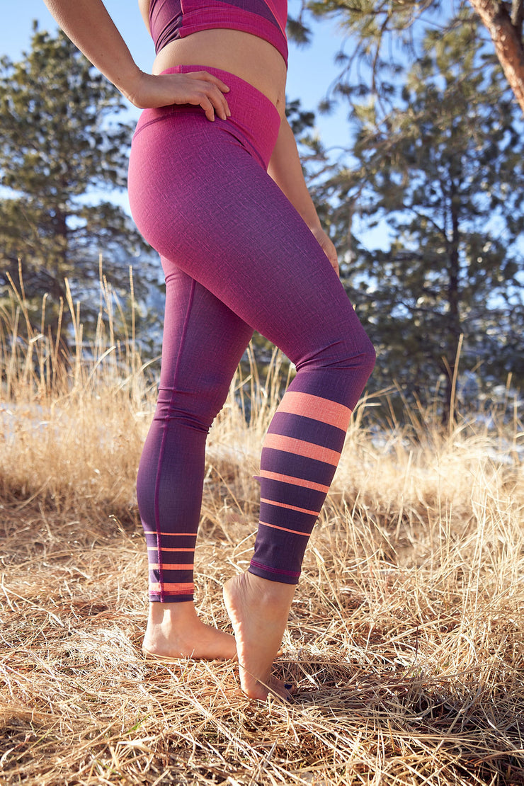 No Limits Core Legging - Vibrant Dawn