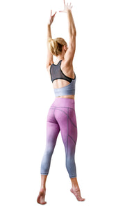 Sisterhood Venture 3/4 Pocket Legging - Raisin/Stone