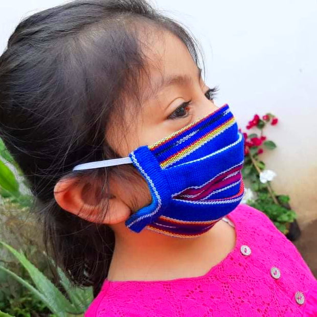 Kids Pleated Mask (3 pack), Age 2 to 6