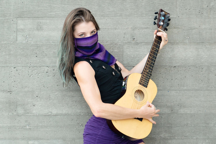 Purple Reign (Scarf Mask)
