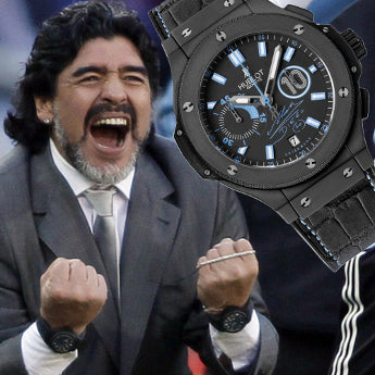 A Day on the Wrist of Diego Maradona
