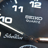 Vintage Seiko Silver Wave 2628 -0040 Watch with Original Strap