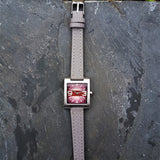 Womens Retro Fossil Watch with a Italian Leather Strap