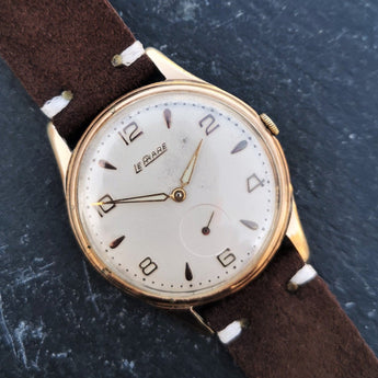 Vintage Le Phare Mens Oversize Watch from 1950s with Handwinding ETA 1120 Movement