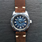 Mens BWC Swiss Vintage Diver Watch with Automatic ETA 2783 Movement