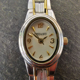 Vintage Women's Embassy Watch With A Gem Stone In Crown And Watch Extender