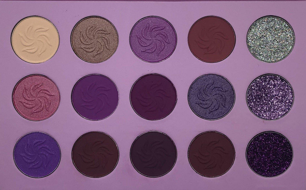 Violet Mermaid Eyeshadow Palette-Immensus Cosmetics