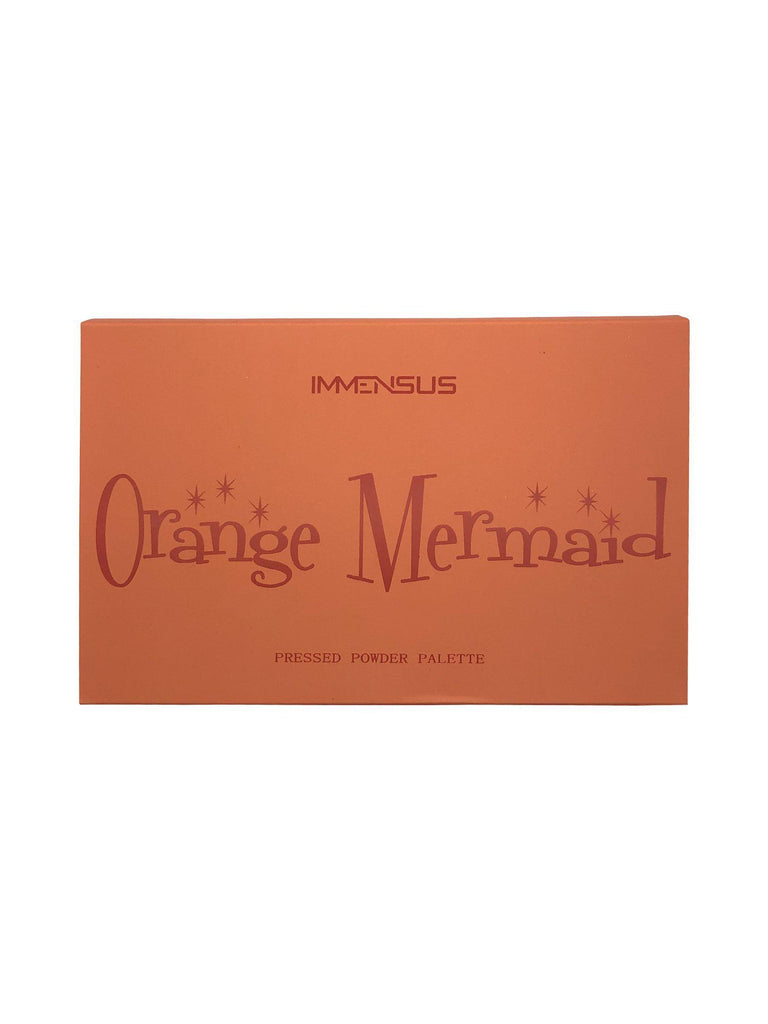 Orange Mermaid Eyeshadow Palette