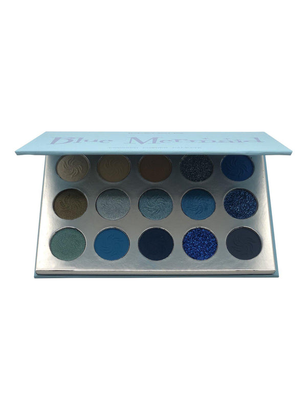 Blue Mermaid Eyeshadow Palette