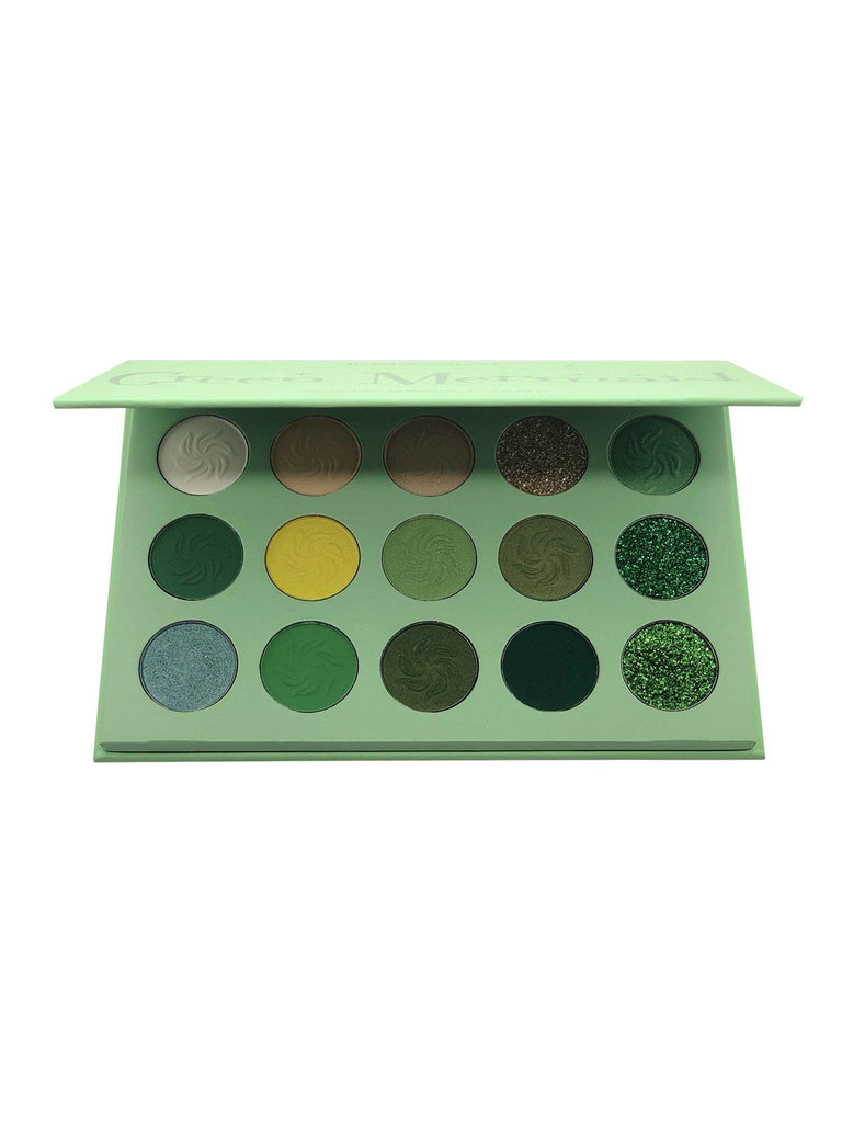 Green Mermaid Eyeshadow Palette-Immensus Cosmetics