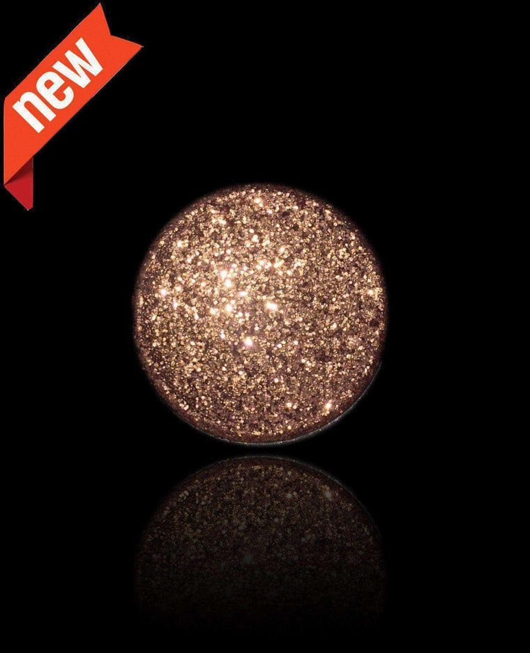 Copper Obsession-Pressed Glitter Eyeshadow-Immensus Cosmetics