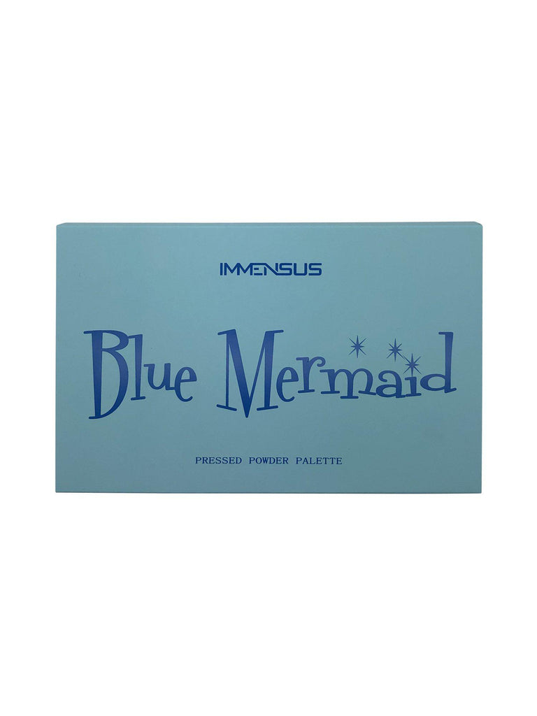 Blue Mermaid Eyeshadow Palette-Immensus Cosmetics