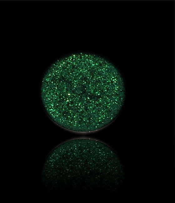 Emerald Queen-Pressed Glitter Eyeshadow-Immensus Cosmetics