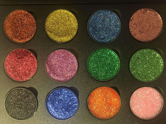 FM Guilty Palette 12B-Pressed Glitter Eyeshadow-Immensus Cosmetics
