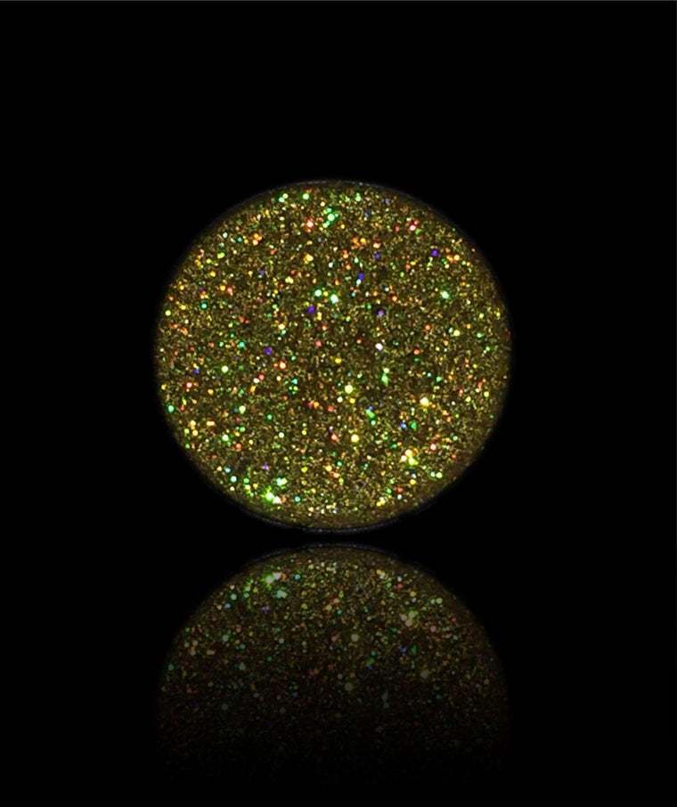 Gold Jewels-Pressed Glitter Eyeshadow-Immensus Cosmetics
