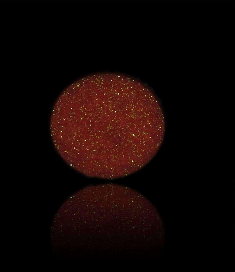 Neon Orange-Pressed Glitter Eyeshadow-Immensus Cosmetics