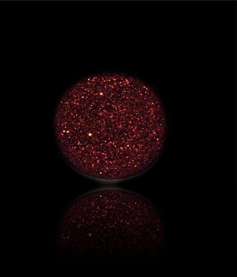 Red Rubies-Pressed Glitter Eyeshadow-Immensus Cosmetics