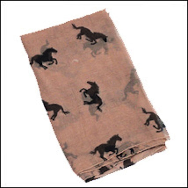 AWST Horses All Over Scarf