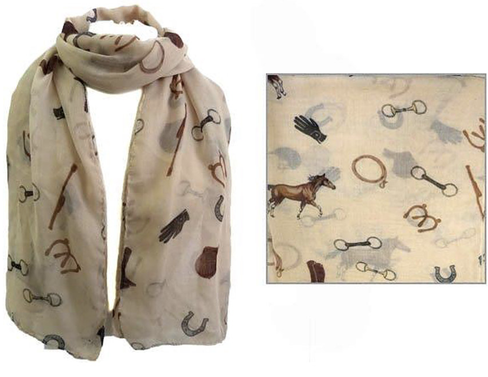 AWST Fashion Scarf with English Theme