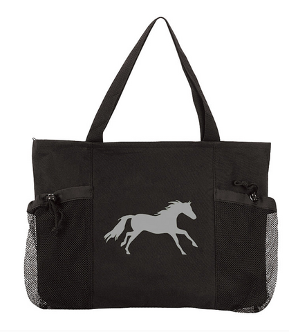 "AWST ""Lila"" Galloping Convenience Tote Bag"