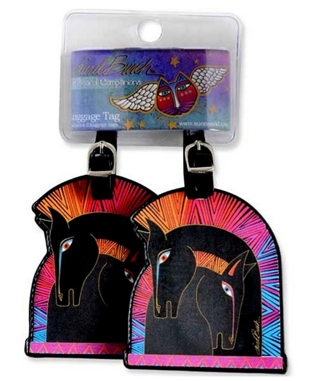 Sun n Sand Embracing Horses On Board Luggage Tags