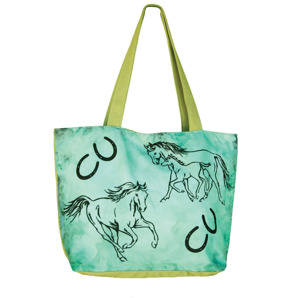 WOW Mare and Foal Canvas Tote Bag