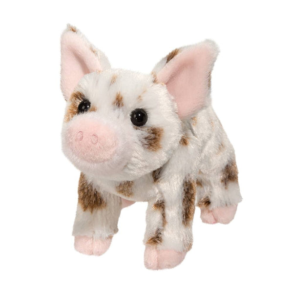 Brown Spotted Pig Stuffie