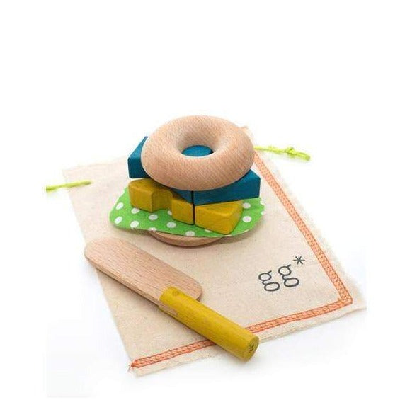 Mamagoto Wooden Bagel Kit