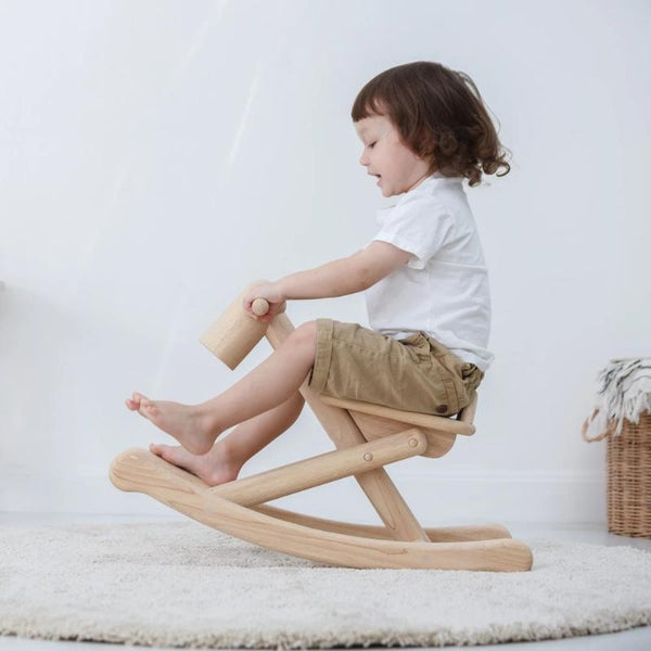 Heirloom Foldable Wooden Rocking Horse