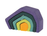 Grimm's Elements Nesting Blocks: 5-piece Earth